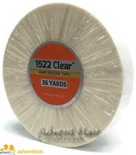 """Clear Tape Roll 3/4"""" x 36 yds WALKER 3M 1522 wig toupee hairpiece"""