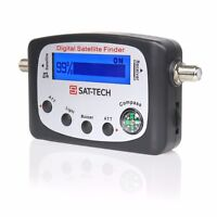 DIGITAL SATELLITE SIGNAL LEVEL METER FINDER DIRECTV DISH FTA
