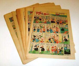 TEDDY, JACK and MARY (1929) - 31 Sunday Comics  by TOM McNAMARA
