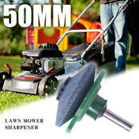 Lawn Mower Sharpener Lawnmower Blade Sharpener Power Drill Garden Rotary Tool