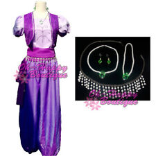 bd16556daf7 Shimmer and Shine Cosplay Costume Women Adult Princess Dress up Purple  Costume