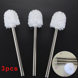 Perfect 3P Replacement Stainless Steel Bathroom Cleaning Toilet Brush Head Hold