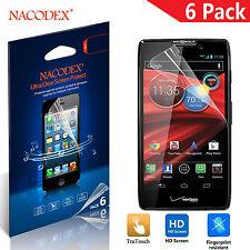 6X Nacodex HD LCD Screen Protector Shield  For Motorola DROID RAZR MAXX HD 4.7''