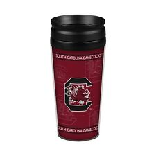 South Carolina Gamecocks 14oz Full Wrap Travel Mug [NEW] Tumbler Coffee Cup