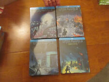 UNDERWORLD AWAKENING + EVOLUTION + RISE OF THE LYCANS BLU-RAY STEELBOOK SET 1-4