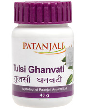 Patanjali Tulsi Ghan Vati 80 Tablets per bottle | Fast Shipping