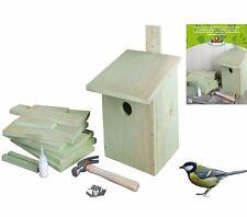 BASTELSATZ NISTKASTEN Bausatz Bastelset Kinder Vogelhaus basteln Kohlmeise KG52