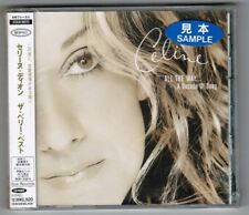 Promo Sealed(?) CELINE DION All The Way A Decade Of Song JAPAN CD ESCA8070 OBI