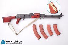 DRAGON IN DREAMS DID 1/6 SCALE MODERN ASAD AFGHANISTAN CIVILIAN RPK MACHINE GUN