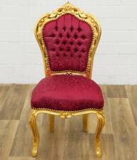 Barock Armlehner Rokoko Stuhl Antik Stil MoCh0857SkSw