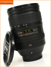 Nikon AF-S 28-300mm f3.5-5.6 G VR Manual Focus zoom Lens + Free UK Postage