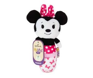 Itty Bittys Baby MINNIE MOUSE Plush Rattle by Hallmark