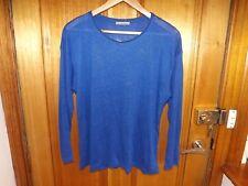 Zara Blue Top / Jumper ~ NEW / UNWORN ~ Size S ~ Cotton / Wool / Viscose