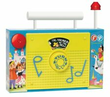 Fisher Price Classic TV Radio #1703 - Brand New, Retro Package Musical Toy