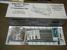 "Round Hay Baler Belt Tool & 7""lacer rivet repair  Flexco Alligator Splice  ART-7"