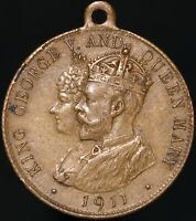 1911 | George V And Queen Mary 'Long May They Reign' Coronation Medal | KM Coins