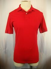 Womens  IZOD Heritage Polo Red 100% Cotton SS Golf Polo Casual Shirt Top sz S/P