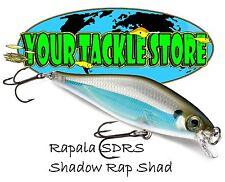 Rapala SDRS09 Shadow Rap Shad Pick Color & Quantity NIP