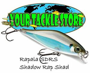 Rapala SDRS09 Shadow Rap Shad Pick Color & Quantity NIP