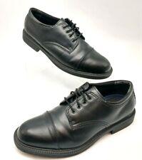 George Mens Berkley Lace Black Oxford Dress Shoe ~ US Size 9.5 ~ Padded Insole ~