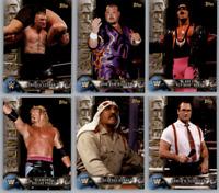 2017 Topps Legends of WWE Wrestling - Base Set Cards - Choose Card #'s 1-100