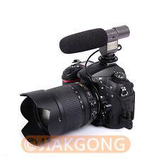 SG-108 Stereo Shotgun Microphone for CANON NIKON PENTAX OLYMPUS PANASONIC D-SLR