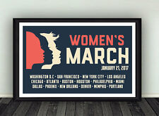 11x17 Womens March Anti Trump Protest Rights Poster
