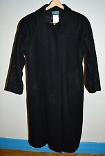 VTG HARVE BERNARD by BENARD HOLTZMAN Full Length 100% Wool Trench Coat