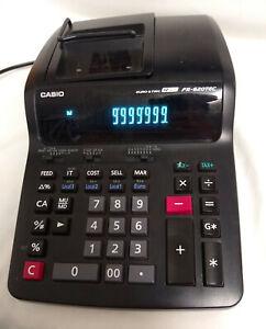 Classic Casio FR 620 TEC Desktop Printing Adding Machine