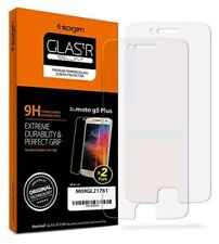 Spigen Moto G5 Plus Screen Protector Tempered Glass / Case Friendly / 2 Pack ...