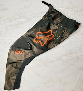 New with Tags Fox Racing Youth 180 Pants - MX Motocross Dirt Bike Off-Road Camo