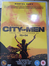 CITY OF MEN Excellent 2007 Brésilien Crime / Dieu De Gang Sequel GB DVD