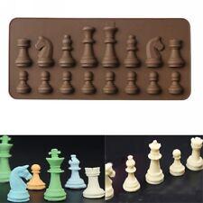 3D Schach Silikon Schimmel Backform Kuchenform Schokolade Eisform Küche DIY