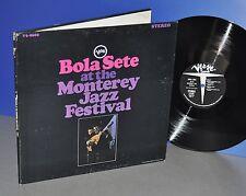 Bola Sete at the Monterey Jazz Festival USA '67 Verve FOC Vinyl LP cleaned
