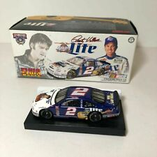 1998 ACTION NASCAR ~ RUSTY WALLACE #2 ~ MILLER LITE / ELVIS 1:64 DIECAST CAR