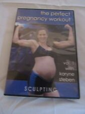 dvd Exercise Pregnancy Expecting Workout Body Sculpting