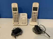 Panasonic KX-TGD530 1.9GHz 2 Handset Cordless Phone & Base Power Cords