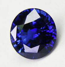 2.40ct!! SAPPHIRE NATURAL BLUE COLOUR -EXPERTLY FACETED IN GERMANY+CERT INCLUDED