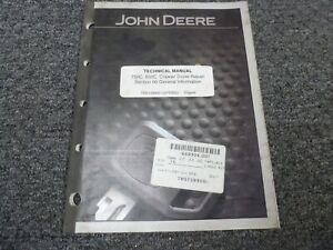 John Deere 750C 850C Crawler Dozer General Information Service Technical Manual