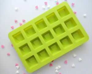 Silikon Pralinen Pralinenform Eiswürfel Schokolade Würfel Grün