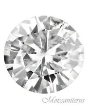 Loose Round Forever Classic 4.5mm Moissanite = .33 CT Diamond with Certificate