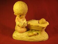 Precious Moments Porcelain Figurine 1979 CROWN HIM LORD OF ALL No Mark [Y94A4]