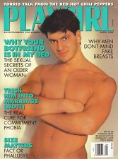 PLAYGIRL April 1992 RED HOT CHILI PEPPERS Kris Kayman KRIS LORD