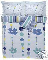 Funda Nordica cortinas 135 Elle Perles azul limitada