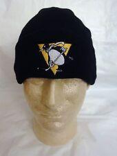 PITTSBURGH PENGUINS Winter Skull Hat  BLACK