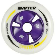 Matter Ultimo, 110mm, F2, professional skate wheels.  8 pack  NEW!
