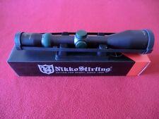 Nikko Stirling Diamond Illuminated 3-12 x 56 4 Dot Rifle Scope