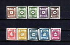 SBZ MiNr. 42-50 A postfrisch inklusive Nr 43 BIa geprüft Ströh BPP!!!