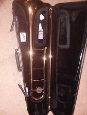 Yamaha Trombone, barely used. Includes slide spray & grease