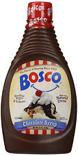 The Original Bosco Chocolate Syrup - 22 oz Squeeze Bottle all nature
